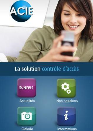 alarme toulouse ACIE controle par smartphone